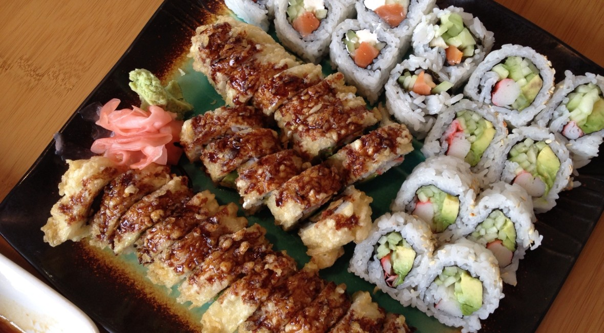 A Momiji Sushi dish. Photo by Nicole Crawford.